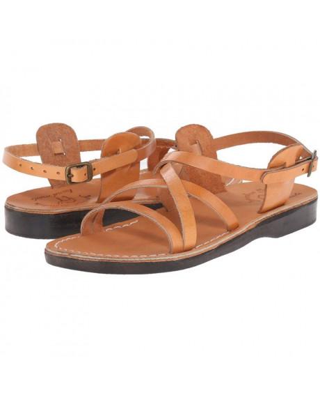 Sandale unisex model clasic camel