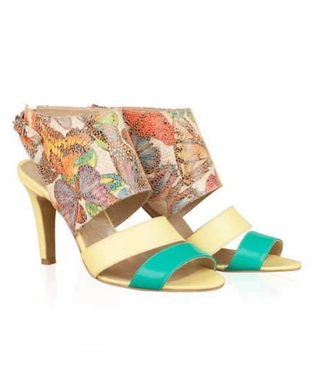 Sandale Chic Butterfly din piele naturala N50 - sau orice culoare