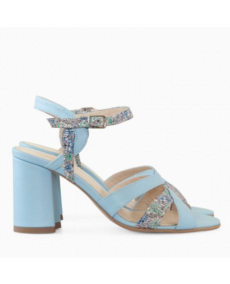 Sandale dama bleu Jody D9 - sau Orice Culoare