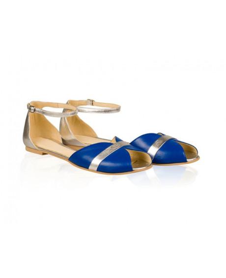 Sandale dama Candy albastru/argintiu N9 - sau orice culoare