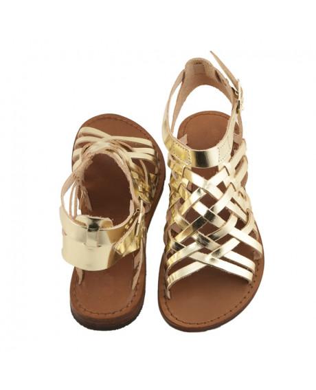 Sandale Romane de dama Gold