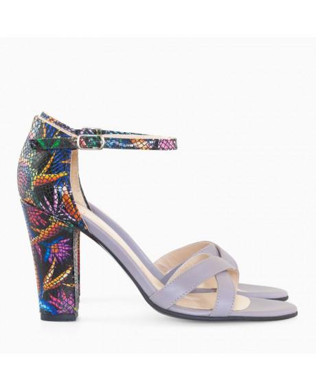 Sandale dama lila Glory D7 - sau Orice Culoare