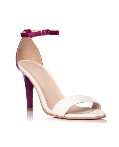 Sandale dama Creative bej/mov S3 - sau orice culoare