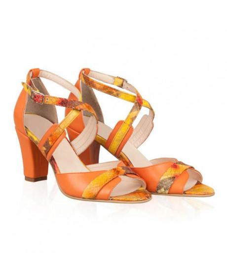 Sandale din piele naturala Olivia N89 - sau orice culoare