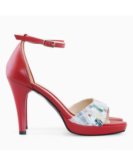 Sandale din piele naturala Cleopatra D95 - sau Orice Culoare