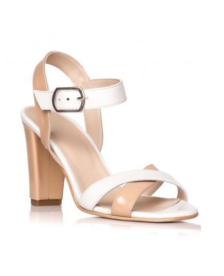 Sandale piele naturala Marina bej/nude S5 - sau orice culoare