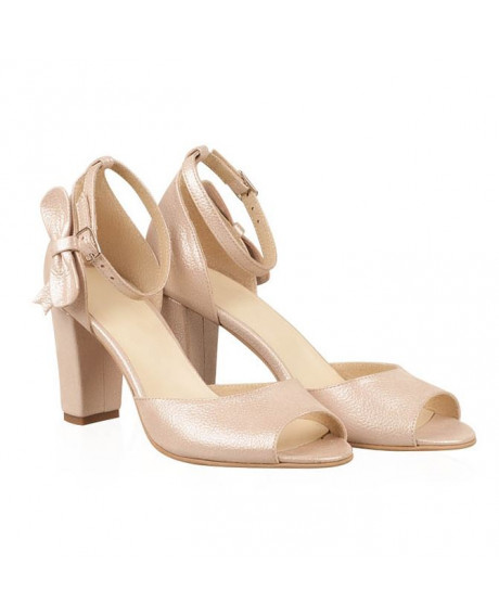 Sandale mireasa piele Lady N9 - sau Orice Culoare
