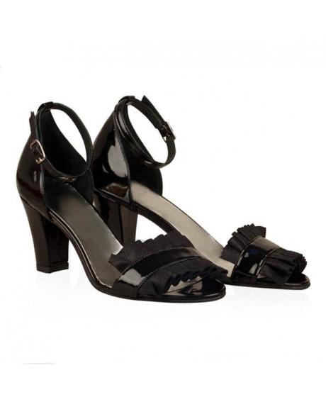 Sandale negre Darla N32 - sau Orice Culoare