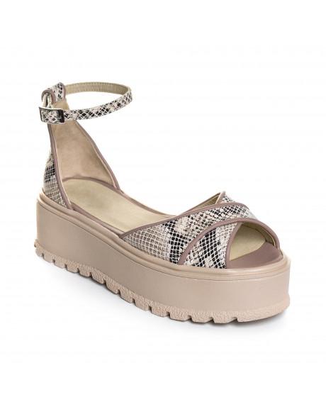 Sandale din piele naturala Lisa V1
