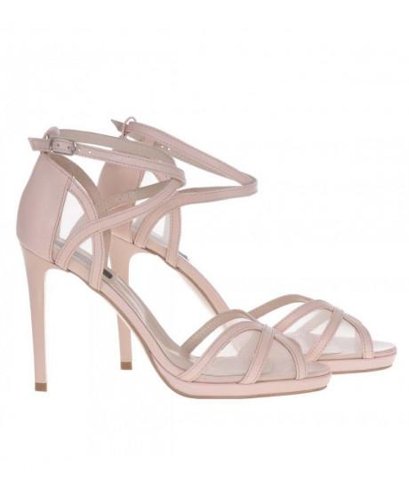 Sandale nude Arya piele S100 - sau Orice Culoare