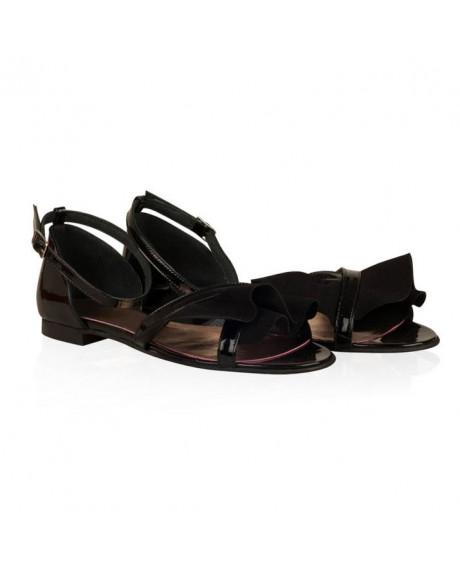 Sandale piele Alondra negre N70 - sau orice culoare