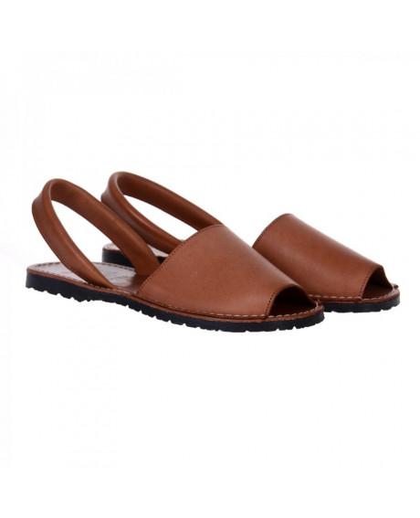 Sandale piele Avarca maro