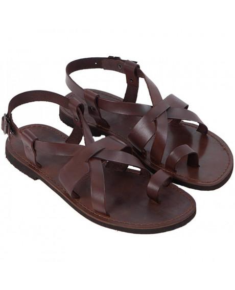 Sandale piele barbatesti Ross, maro
