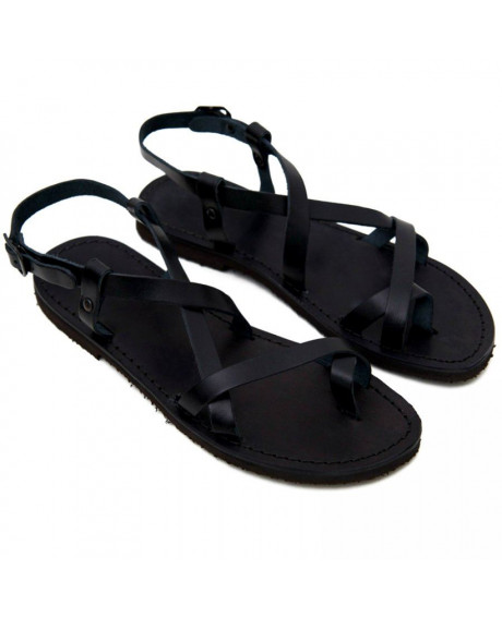 Sandale piele Betina negre