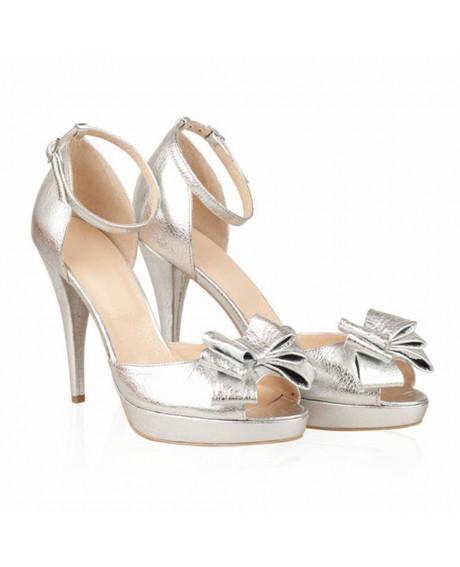 Sandale piele Briliante - N53 - sau Orice Culoare