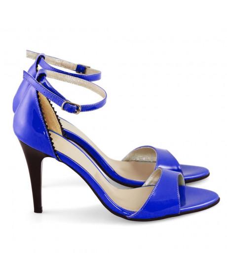 Sandale Cecile albastre D07 - sau Orice Culoare