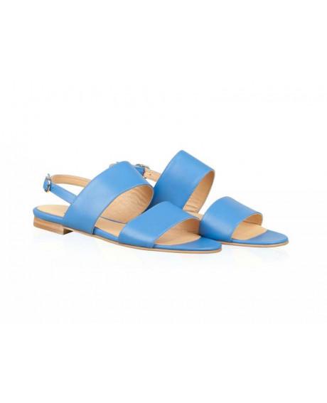 Sandale piele Classy blue N58 - sau Orice Culoare