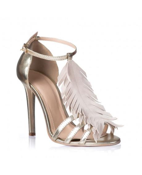 Sandale Fashion cu franjuri bej L101- sau orice culoare