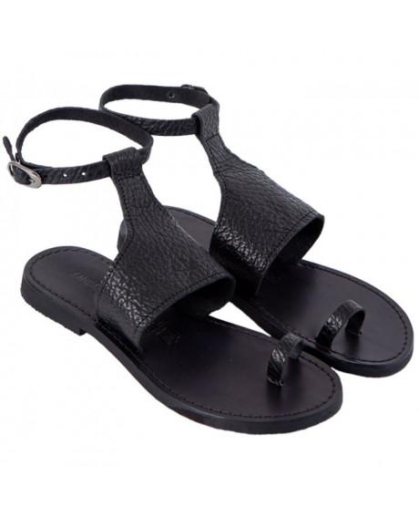 Sandale piele dama Elisee, negre