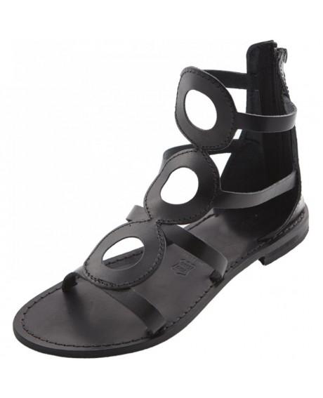 Sandale piele dama Giorgia, negre