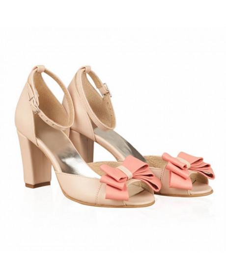 Sandale piele Greta - N70 - sau Orice Culoare