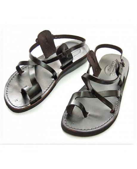Sandale unisex model deget Negre