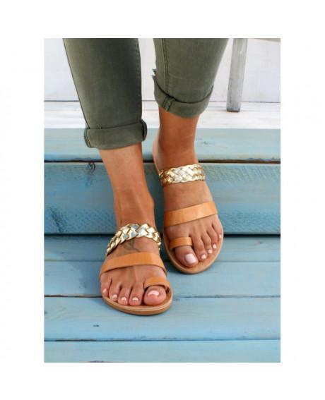 Sandale piele Lora