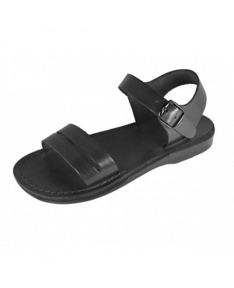 Sandale piele Gladiator Y negru