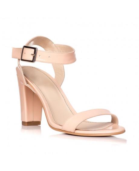 Sandale piele naturala Marina nude S3 - sau orice culoare