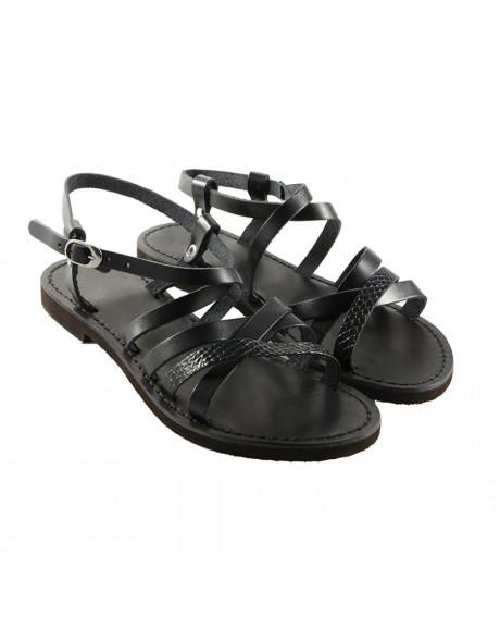 Sandale piele Romina negre