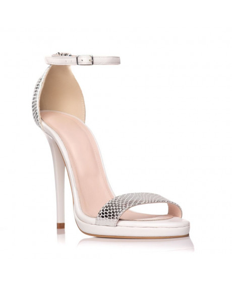 Sandale piele naturala Daydream argintii S1 - sau orice culoare