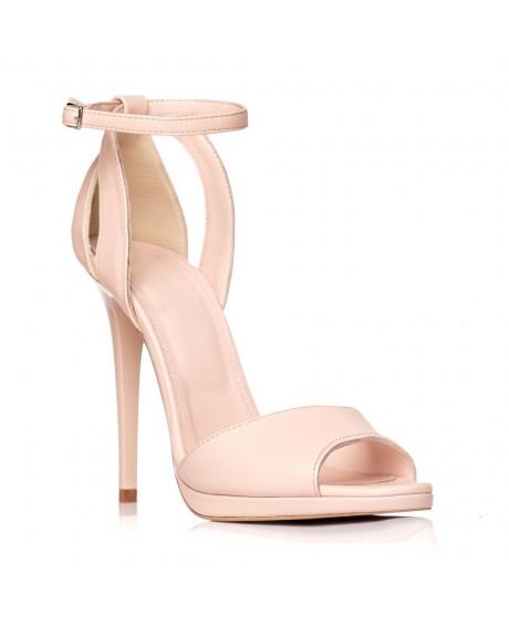 Sandale piele naturala Style nude S20 - sau orice culoare
