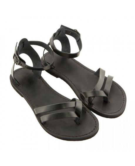 Sandale piele negre Ada