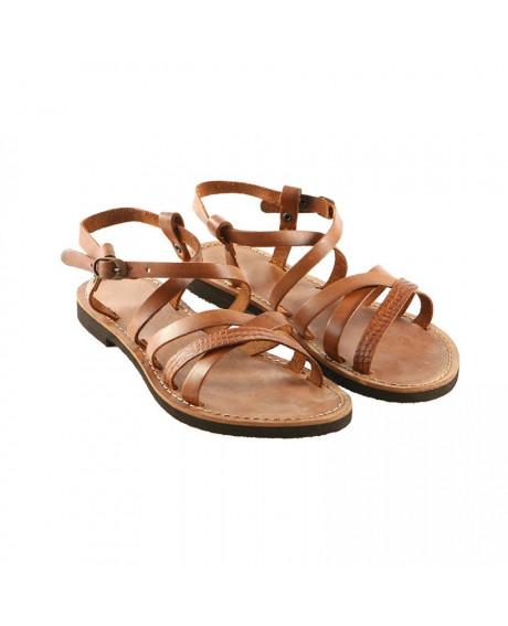 Sandale piele Romina maro