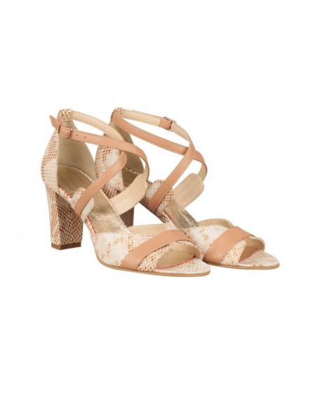 Sandale piele Sara N101 - sau Orice Culoare