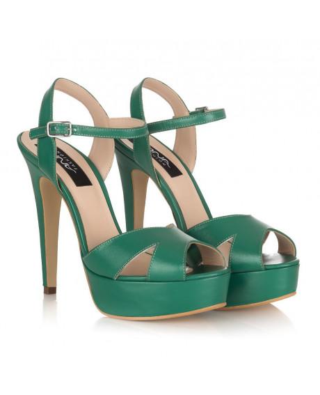 Sandale piele Style verzi M115 - sau orice culoare