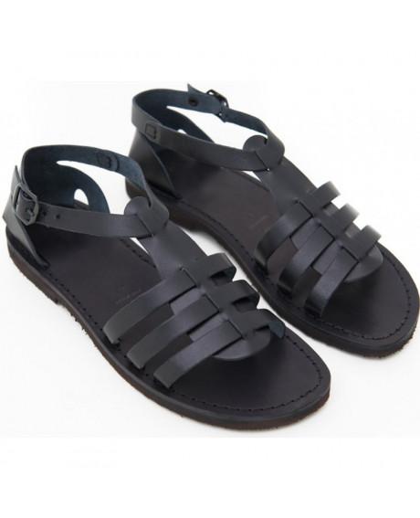 Sandale Romane de dama Mia, negre