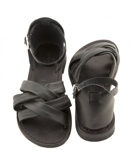Sandale Romane de dama Stefana, negre