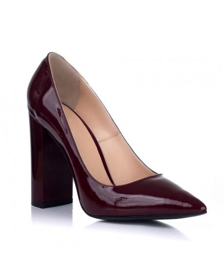 Pantofi Stiletto GLAM bordo lac S1