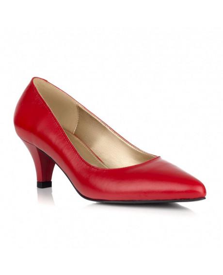Pantofi Stilettos STAR rosii L100